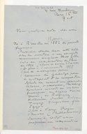 [Lettre de Lazare Lévy à Marc Pincherle, 7 octobre 1938]