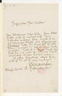 [Lettre de Hermann Lévi, 17 novembre 1882]