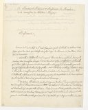 [Lettre de Jean-François Le Sueur à Monsieur le Président, 1er Mai 1843]