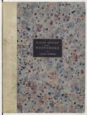 """Pour Georges Hartmann // """"Nocturnes"""" // 1° Nuages // 2° Fêtes // 3° Sirènes // Claude Debussy // Paris - 1898 - 1899 (manuscrit autographe)"""