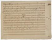 [The dream : coda instrumentale, Hess 205] (manuscrit autographe) / Ludwig van Beethoven]