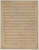 [L'Éternel est son nom] (manuscrit en partie autographe) / Franz Liszt]