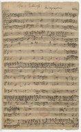 Fer: I. Pentecost. // W.F. Bach (manuscrit autographe)