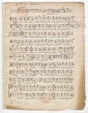 Parties Séparées // de Daphnis // et Eglé // non gravé. // de Rameau // verifiées pour la partition // in folio