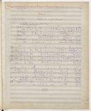 Amour !... // Strophes pour 4 voix d'hommes // poésie de Paul Milliet (manuscrit autographe)