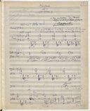 Herodiade // Acte II // 1er tableau (manuscrit autographe)