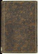 Volume composé de deux manuscrits