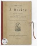 Oeuvres de J. Racine : eaux fortes / d'après les dessins de Gravelot, gravées par Louis Monziès, Martinez, et Lemaire