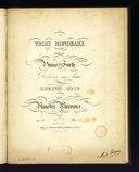 Trois rondeaux pour le piano-forté : N°1 : Op. 13 / par Amédée Méreaux ; dédié à son ami Adolphe Adam