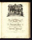 Sur l'eau qui te balance : barcarolle de C. P. Lafont variée pour le piano : Op. 30 / par Amédée Méreaux ; dédiée à Mme. la Marquise de Badepont