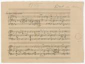 [Gestorben war ich] (manuscrit en partie autographe) / Franz Liszt]