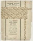 Théâtre du Châtelet, Grande saison de Paris..., du 4 mai au 10 mai 1912, six représentations de gala : Hélène de Sparte..., [programme] / [textes de Ch. Batilliot, Claude-Roger Marx, Louis Delluc]