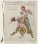 Programme officiel des Ballets russes : Théâtre de l'Opéra, mai-juin 1914 : [représentations des 4 et 6 juin 1914] / [textes de M.-D. Calvocoressi, Jean Chantavoine, Jacques Debey... et al.]