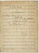 Cadichon // ou // Les Bohemiennes // a Philippot Célicoust // Opéra // 12 parties. // Vaudeville. En un acte