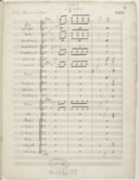 [La Esmeralda / Louise Bertin] (manuscrit autographe)