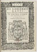 Il primo libro de madrigali a cinque voci, nuovamente composti et dati in luce