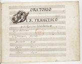 Oratorio // di S. Francesco // di Quirino Colombani