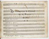 La Conversione di Clodoveo // Rè di Francia // Oratorio // A S