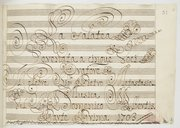 | Il Celebre Sig.re : Pietro Metastasio... // Musica // Del Sig.re : Domenico Albertis
