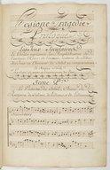 Hésione // Tragédie, // Mise en Musique par Monsieur Campra, Maître de // Musique de la Chapelle du Roy. // Représenté pour la premiere fois par l'Academie Royale de Musique le 21. Decembre 1700. // A Paris // M.DCCXLIII