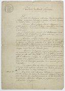 [Bases du traité provisoire entre Nicéphore Niépce et Daguerre]