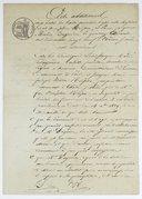 Acte additionnel aux bases du traité provisoire passé entre messieurs Joseph Nicéphore Niépce et Louis Jacques Mandé Daguerre, le 14 décembre 1829, à Châlon-s.-Saône