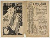 L'hymne de France : Marseillaise civilisatrice / Auteur, Victor Hembergue ; [sur l'air de La Marseille de Rouget de L'Isle]