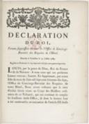 Image from object titled Déclaration... portant suppression du titre de l'office de concierge-buvetier des Requêtes de l'Hôtel... Registrée en Parlement le 5 septembre [1783]...