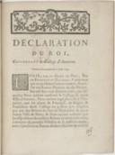 Image from object titled Déclaration... concernant le collège d'Auxerre... [Enregistrée au Parlement le 31 août 1764.]
