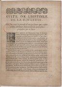 Suite de l'histoire de la roulette, où l'on voit le procédé d'une personne [le P. Lalouère] qui s'estoit voulu attribuer l'invention des problesmes proposez sur ce sujet. [Par B. Pascal, daté du 12 décembre 1658.]