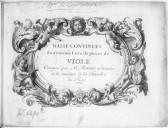 Basse-continues du troisième livre de pièces de viole...