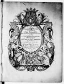 Premier oeuvre contenant six sonates pour deux flûtes traversières sans basse...