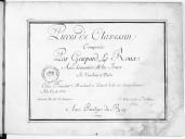 Pieces de clavessin composées par Gaspard Le Roux avec la maniere de les joüer