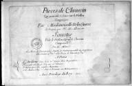Pieces de clavecin qui peuvent se jouer sur le viollon... ; Sonates pour le viollon et pour le clavecin... / composées par Mademoiselle de la Guerre