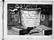 Les pieces de clavessin de Monsieur de Chambonnieres
