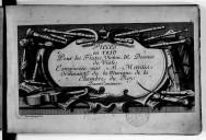 Pieces en trio pour les flutes, violon, & dessus de viole composées par M. Marais ordinaire de la musique de la chambre du Roy