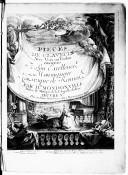 Pièces de clavecin avec voix ou violon... par Mr Mondonville,.... Oeuvre Ve...