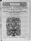 Motettorum quae partim quinis, partim senis, partim octonis vocibus concinantur. Liber secundus. Nunc denuo in lucem editus