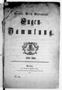 Friedrich Wilhelm Marpurgs Fugensammlung. Erster Theil