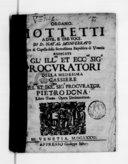 Mottetti a due, e tre voci di D. Natal Monferrato,... Libro terzo. Opera decima ottava