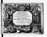 Motets melêz de symphonie, composez par Monsieur Charpentier...[1er livre]