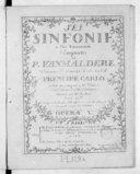 Sei Sinfonie a piu strumenti..., mis au jour par M. Venier, seul éditeur des dits ouvrages. Gravés par Mme Leclair, opera Ve