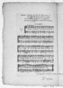 Stances chantées à la fête des Elèves pour la fabrication des canons, poudre et salpêtre..., par Pillet.... N° 5 [pr 1 v. et b.]