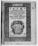 Salmi concertati à tre voci di Angelo Berardi da S. Agata,... Libro secondo, opera quinta...