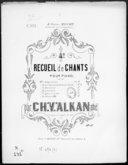 4e recueil de chants pour piano : op. 67. N° 4, Doucement / par Ch. V. Alkan aîné