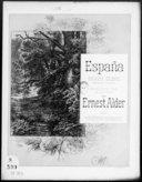 España : rapsodie célèbre / d'Emmanuel Chabrier ; arr. très facile pour piano à 4 mains par Ernest Alder ; [ill. par] P. Borie