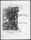 Menuet célèbre en sol mineur / de Francis Thomé ; arr. pour piano à 4 mains par Ernest Alder ; [ill. par] P. Borie
