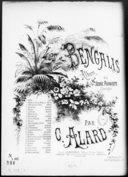 Les Bengalis. 13, Les moissonneurs / de Couperin ; transcription facile [pour piano] par Jules Vasseur