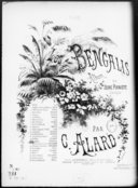 Les Bengalis. 16, Célèbre air d'église / de Stradella ; transcription facile [pour piano] par Jules Vasseur
