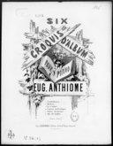Six croquis d'album. 6, Air de ballet : [pour piano] / Eug. Anthiome ; [ill. par] E. Delay